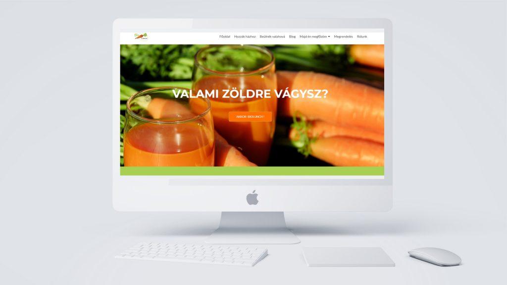 egyedi honlap
