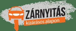 Autónyitás, zárnyitás logo